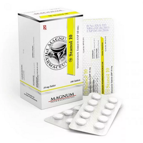Stanozolol oral (Winstrol) 10mg (100 pills) online by Magnum Pharmaceuticals