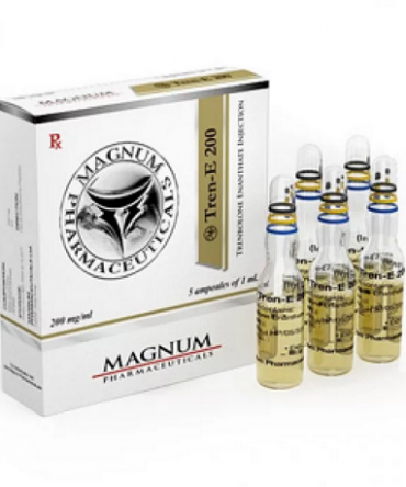 trenbolone enanthate 5 ampoules (200mg/ml) online by Magnum Pharmaceuticals