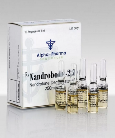 Nandrolone decanoate (Deca) 10 ampoules (250mg/ml) online by Alpha Pharma