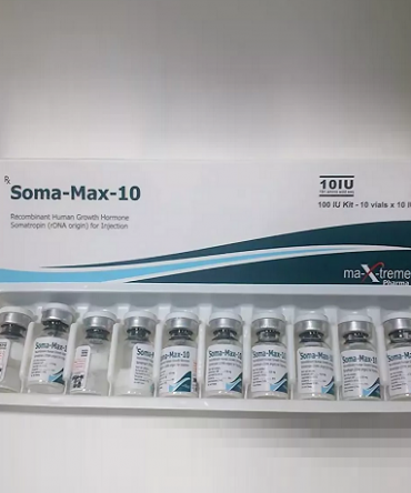 Human Growth Hormone (HGH) 10 vials (10IU vial) online by Maxtreme