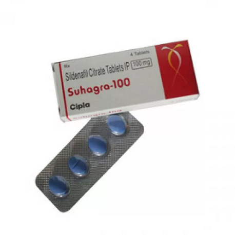sildenafil citrate 100mg (4 pills) online by Indian Brand