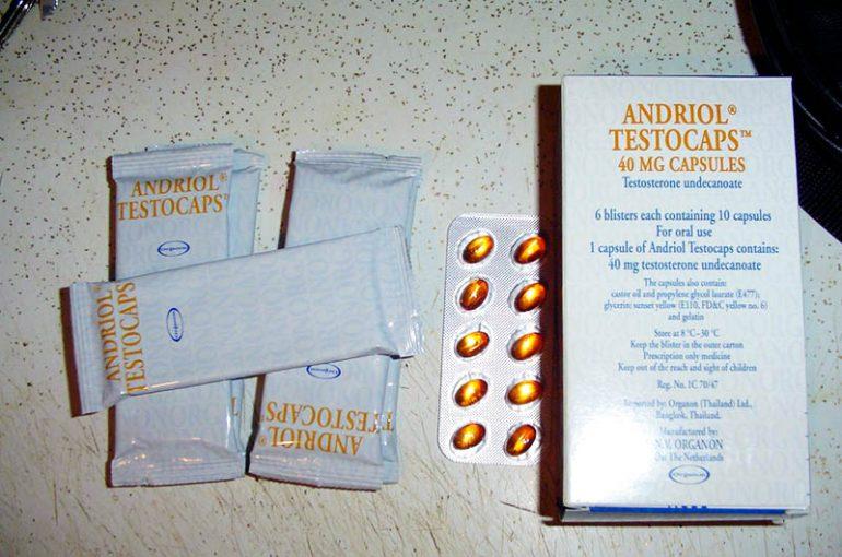 Andriol Testocaps Bodybuilding