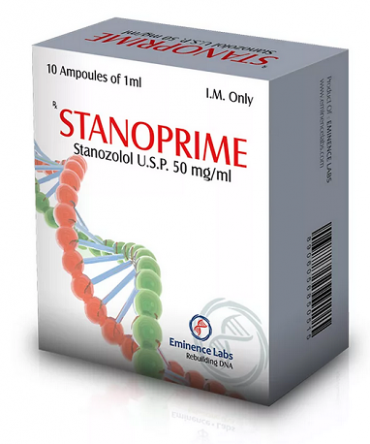 Stanozolol injection (Winstrol depot) 10 ampoules (50mg/ml) online by Eminence Labs